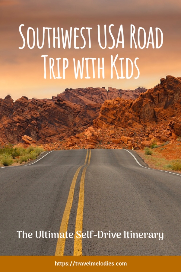 Southwest USA Road Trip Itinerary with Kids