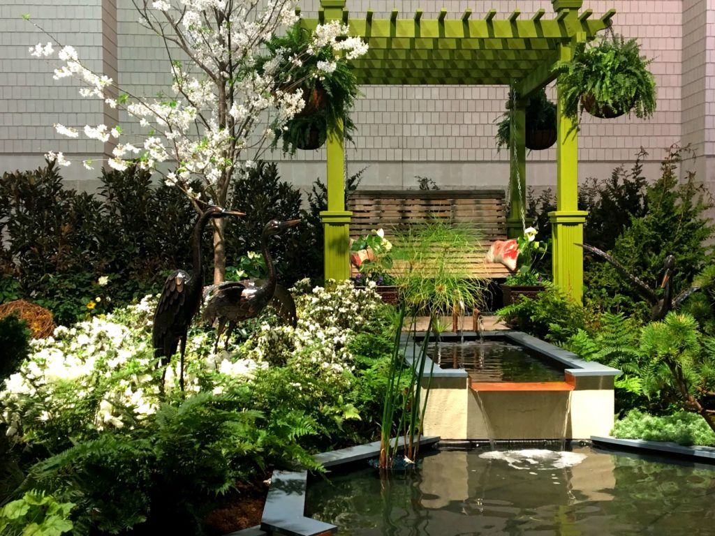 a detailed family guide to the Philadelphia flower show landscape