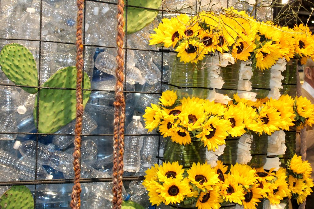 a detailed family guide to the Philadelphia flower show mexico plastic bottles