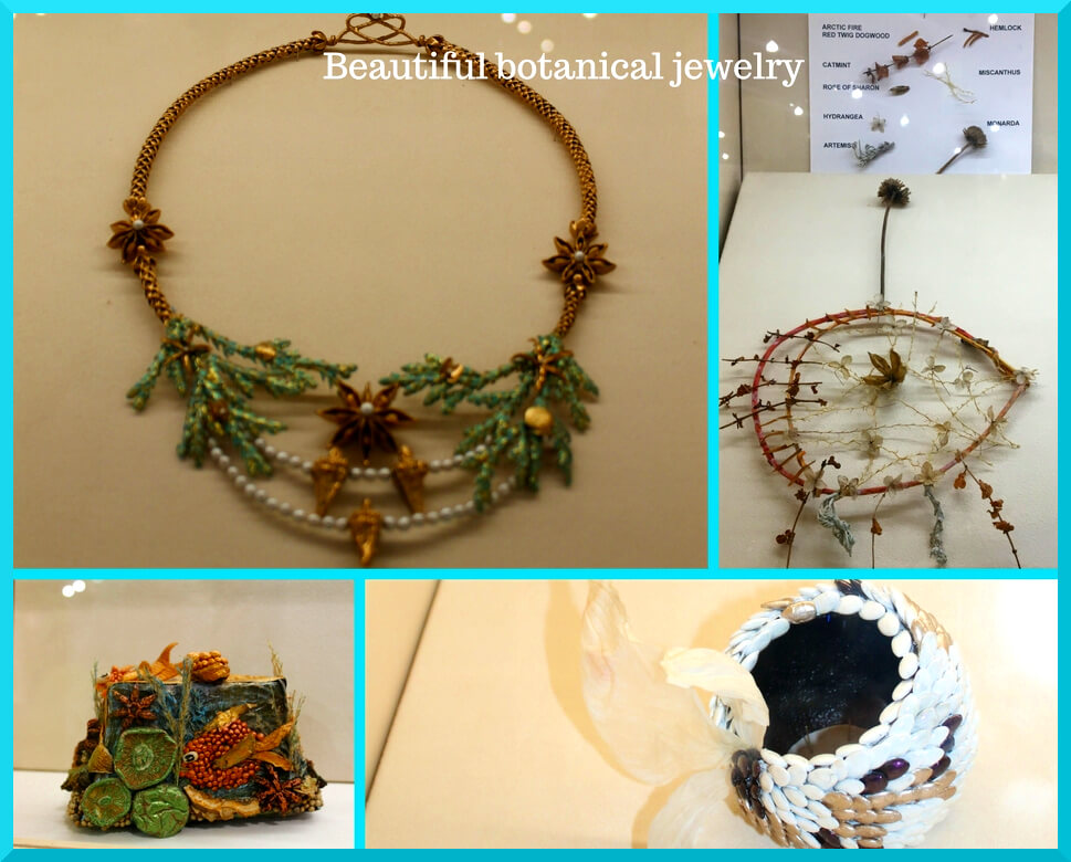 a detailed family guide to the Philadelphia flower show jewelry collage