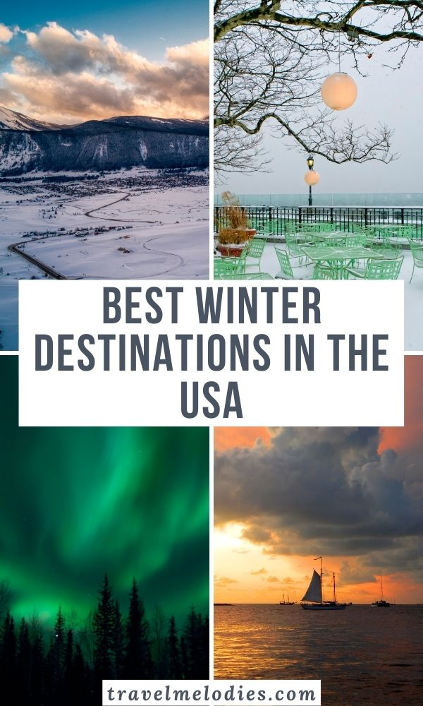 Winter destinations in the USA