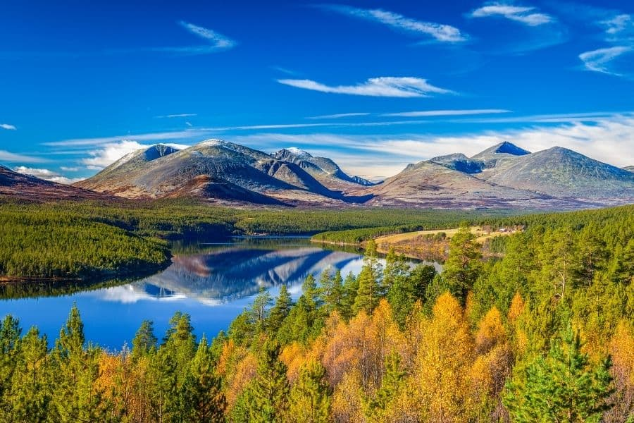 rondane national park norway best national parks in the world