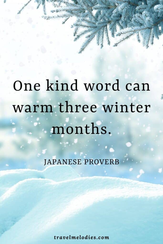 Best Winter Quotes and Captions for Winter Lovers - Travel Melodies